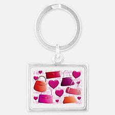 558 I Love Handbags for Cafe Pr Landscape Keychain
