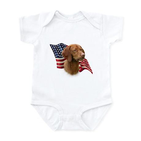 Vizsla Flag Infant Bodysuit