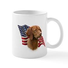 Vizsla Flag Small Mug