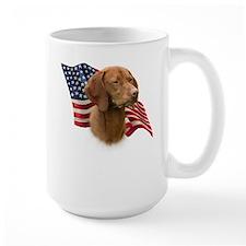 Vizsla Flag Coffee Mug