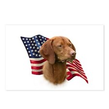 Vizsla Flag Postcards (Package of 8)