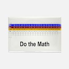 """""""Do the Math"""" Golf-T-Designs Magnet"""