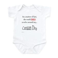 Canaan Dog World Infant Bodysuit