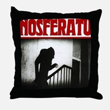 Nosferatu-01 Throw Pillow
