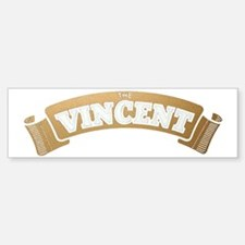 vincent-001 Car Car Sticker