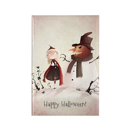 halloween1 Rectangle Magnet