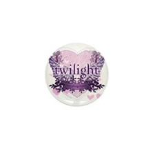 twilight breaking dawn purple heart tw Mini Button