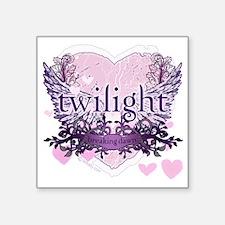 """twilight breaking dawn purp Square Sticker 3"""" x 3"""""""