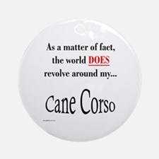 Cane Corso World Ornament (Round)