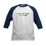 Geek of All Trades Kids Baseball Jersey