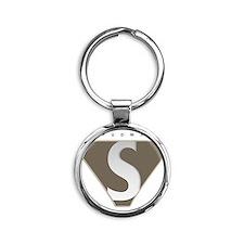 spudman_V2 Round Keychain