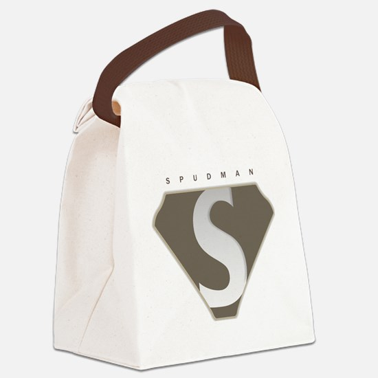 spudman_V2 Canvas Lunch Bag