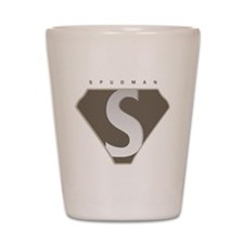 spudman_V2 Shot Glass