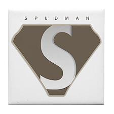 spudman_V2 Tile Coaster