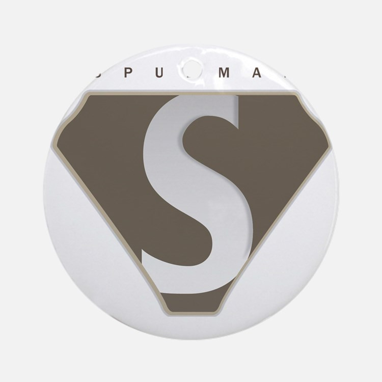 spudman_V2 Round Ornament