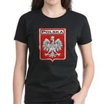 Polska Shield / Poland Shield Women's Dark T-Shirt