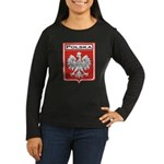 Polska Shield / Poland Shield Women's Long Sleeve