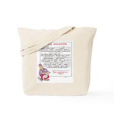MAFIA APPLICATION Tote Bag