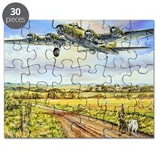 305th Bomb Group B-17 Flying Fortress Puzzle