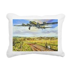 305th Bomb Group B-17 Fl Rectangular Canvas Pillow