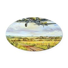 305th Bomb Group B-17 Flying Fortr Oval Car Magnet