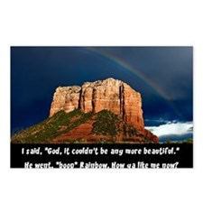 RedRock Rainbow PWNED BY  Postcards (Package of 8)