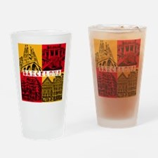 Barcelona_10x10_apparel_AntoniGaudà Drinking Glass