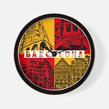 Barcelona_10x10_apparel_AntoniGaudí_Re Wall Clock