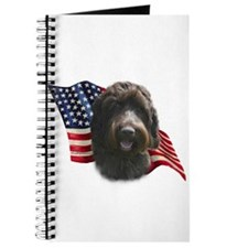 Wirehaired Griffon Flag Journal
