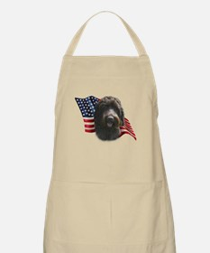 Wirehaired Griffon Flag BBQ Apron