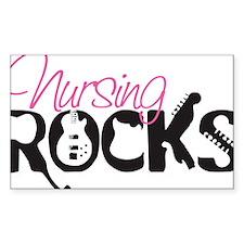 NursingRocks Decal