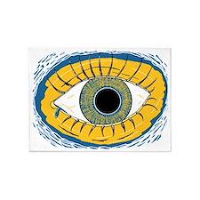 Floating Eye 5'x7'Area Rug