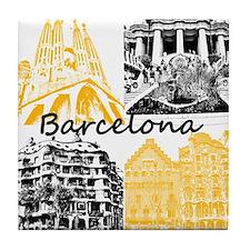 Barcelona_10x10_apparel_AntoniGaudí_ Tile Coaster