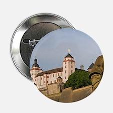 "Wurzburg. Festung Marienberg fortress 2.25"" Button"