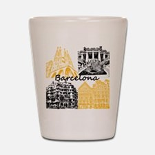 Barcelona_10x10_apparel_AntoniGaudí_Bl Shot Glass