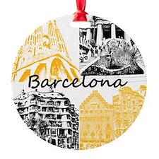 Barcelona_10x10_apparel_AntoniGaudà Ornament