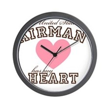 ausairmanhasmyheart Wall Clock