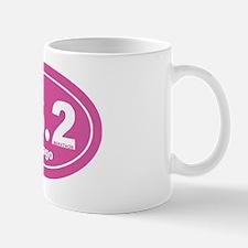 26.2 chicago marathon pink dk 2 Mug