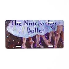 dancenutcr copy Aluminum License Plate