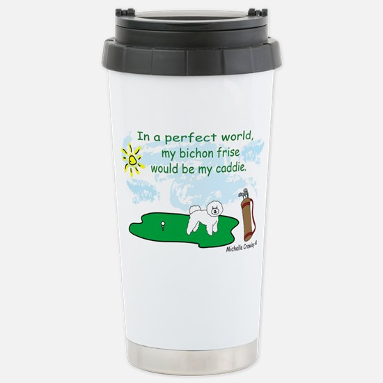 BichonFrise Stainless Steel Travel Mug