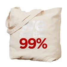 We are the 99% stacked KO Tote Bag