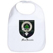 MacKenzie Clan Crest Tartan Bib