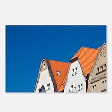 Dusseldorf. Rheinufer Pro Postcards (Package of 8)