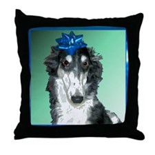 TillyBowPOilSharp2010 Throw Pillow
