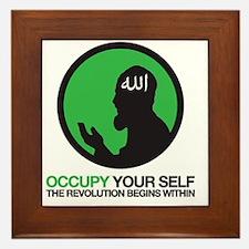 occupywithAllah2 Framed Tile