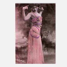 Lunagirl vintage bellydan Postcards (Package of 8)