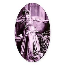 Lunagirl vintage bellydancer queen  Decal