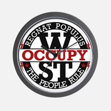 Occupy-CRCL-2 Wall Clock