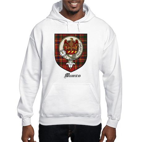 Munro Clan Crest Tartan Hooded Sweatshirt