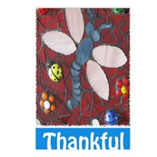 Thankful Thoughts Dragonf Postcards (Package of 8)